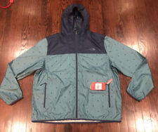 NWT$70 Mens The North Face Blue Wind Breaker Cyclone Hoodie 2XL