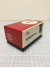 Leica 28mm f/2.8 Elmarit-M Box Only