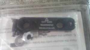 Shimano SM-MA 160mm rear flat mount adaptor