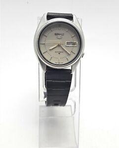 VINTAGE SEIKO 5 7009-8740 F AUTOMATIC 17J JAPAN MEN'S WATCH (3014)