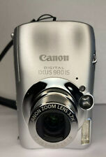 CANON Digital IXUS 980 IS Camera 14.7 MP megapixels 3.7 Optical Zoom BOXED!