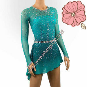 Ice skating dress.Competition Figure Skating Dress /Baton Twirling Costume