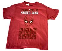 Youth Marvel I'm Not Saying I'm Spiderman, I'm Just...Shirt New S, M, XL