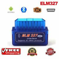 Mini OBD2 II ELM327 V2.1 Bluetooth Car Scanner Code Reader Scan Tool Android U