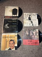 Mini Record Collection: Ellington Showcase, Billy Taylor, Andre Previn, Etc...