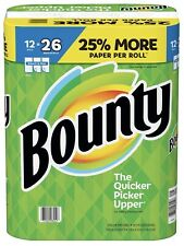 New Bounty Select-A-Size Paper Towels, White (12 rolls = 26 Reg)