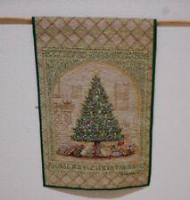 Merry Christmas Tapestry Wall Hanging Decoration Dan Morris