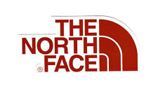 The North Face Red 4.5 x 9.5 cm suitcase decal luggage vinyl sticker 1845