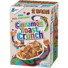 Cinnamon Toast Crunch Cereal (49.5 oz, 2 pack)  GREAT VALUE & SERVICE!!