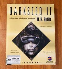 Darkseed Cyber Dreams II CD ROM computer game, H.R Giger