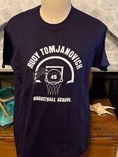 New listing Vintage 70s/80s Nike Blue Label Tshirt Size L 50/50 Rudy Tomjanovich Basketball