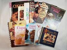 Miscellaneous Baked Goods Cookbooks, Lot Of 13