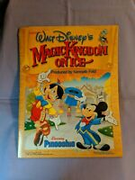 Walt Disney's Magic Kingdom On Ice - Starring Pinocchio Souvenir Program (1987)