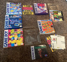 Lot of 5 Nintendo Game Boy Boxes Only - NO Games or Manuals