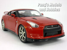 Nissan GT-R 2009 1/24 Scale Diecast Metal Model by Jada - RED