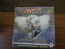 MAGIC THE GATHERING   :  PACK FORMATION RAPIDE  - 22 CARTES + TAPIS DE JEU + CD
