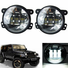 "2 pcs 4"" 30W chips LED Fog Lights Driving Lamp For 2007-2014 Jeep Wrangler JK"