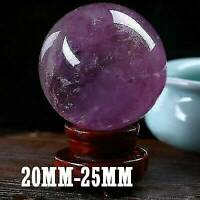 TOP! Natural Amethyst Quartz Stone Sphere Crystal Fluorite Ball Healing Gemstone