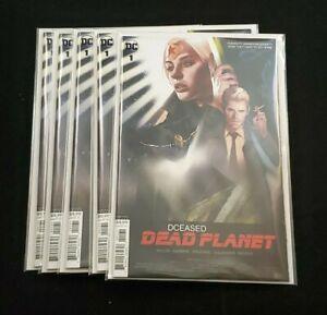 DC COMICS DCEASED DEAD PLANET #1 (OF 6) CARD STOCK BEN OLIVER MOVIE VARIANT