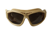 REVISION BALLISTIC BULLET ANT GOGGLES TAN - USED WITH NEW LENSES - BRITISH ISSUE