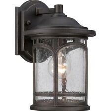Quoizel Marblehead Outdoor Wall Lantern, Palladian Bronze - MBH8407PN