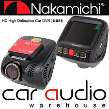"Nakamichi ND58 2"" 1296p HD Screen DVR Car Front Dash Cam Accident Witness Camera"