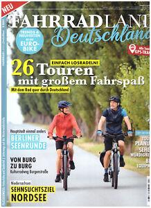 Fahrradland Deutschland 2/21 Touren mit großem Fahrspaß Fahrrad Bike