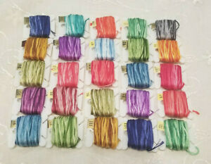 DMC Variegated Embroidery Floss Lot Of 25 On Bobbins