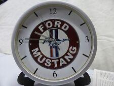 FORD MUSTANG pendule murale horloge 20cms ( V8 289 SHELBY COBRA BULLITT FASTBACK