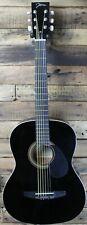 Johnson Jg-100 Student Acoustic Guitar, Black #R5617