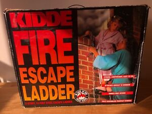 Kiddie Emergency Fire Escape 2 Storey 15ft Ladder Never Used Still in Box
