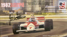 1982sb McLaren Cosworth mp4b DETROIT F1 couverture signée John Watson