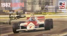 1982sb McLAREN COSWORTH MP4B DETROIT F1 Cover signed JOHN WATSON