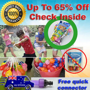 Already Tied Magic Water Bombs Balloons **up to 65%** off Ball Bunch Kid Party