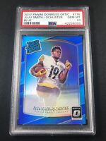 2017 Panini Optic Blue Prizm JuJu Smith-Schuster PSA 10 #/149 RC Rookie - Pop 7!