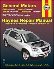 Haynes GMC ACADIA (07-15) DENALI Owners Service Repair Workshop Manual Handbook