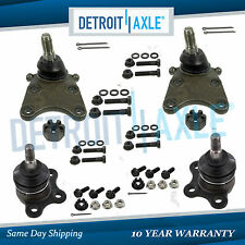 4pc Front Upper and Lower Ball Joints 2004 - 2012 Colorado Canyon Torsion Bar
