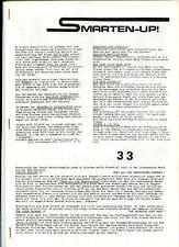 Smarten-Up No. 33  (rares deutsches Mod Garage Fanzine, 1988)