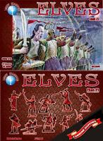 Dark Alliance 72005 Elves (Set 2) (40 figures / 10 poses) plastic figures 1/72