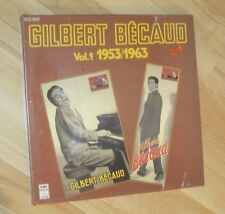 GILBERT BECAUD - Vol.1 1953/1963 COFFRET 4 DISQUES 33T NEUF SOUS BLISTER