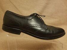 Allen Edmonds Concord Men's Black Leather Wingtip Oxford Lace Up Shoes Size 11 C