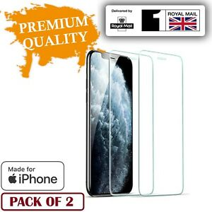 Gorilla Tempered Glass Screen Protector for iPhone 11 12 Pro X XR XS Max Cover