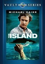 The Island DVD 1980 Michael Caine ( Peter Benchley )  (MOD)