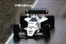 9x6 Photograph, Mauro Baldi , F1 Spirit-Hart 101D, Portuguese GP 1985