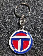 Talbot Keyring Logo Glazed - Mass Emblem 1 15/32In