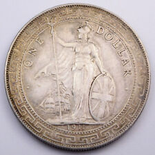 1911B Great Britain Silver Trade Dollar - KM# T5