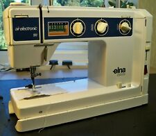 Elna Air Electronic SU 68  Sewing Machine Swiss Made Excellent Working Condition