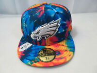 New Era 2020 NFL Philadelphia Eagles Crucial Catch Hat 59FIFTY Size 7 3/8 New