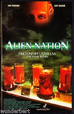 """VHS """" Alien NATION - Der Feind ist unter uns """" (1997) - Eric Pierpoint"""