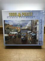"King 1000 Piece Puzzle ""Road Meets Rail"""